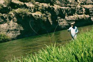 Roll Casting with Park City Fly Fishing Guides
