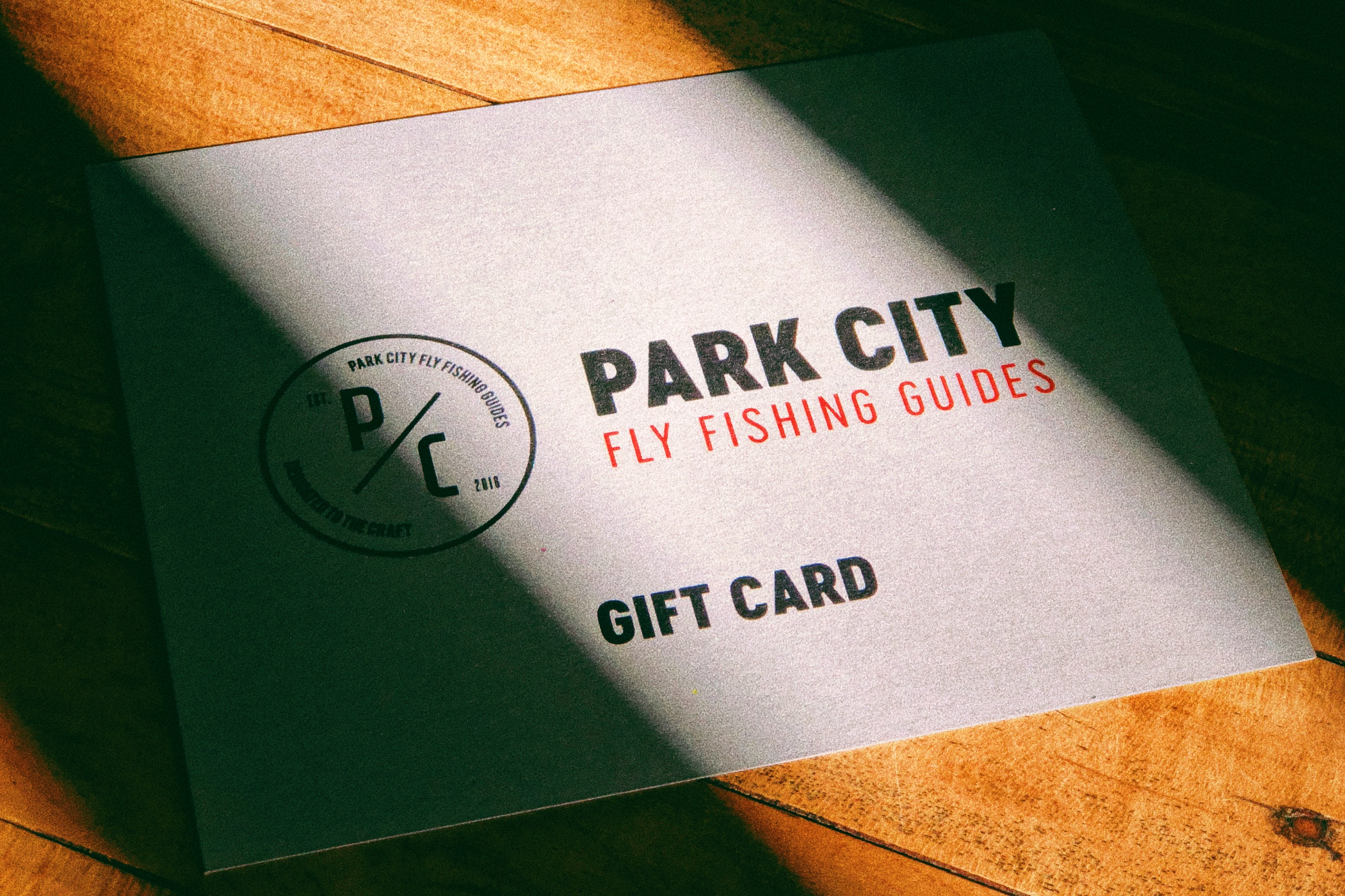 Park City Fly Fishing Guides Gift Certificate