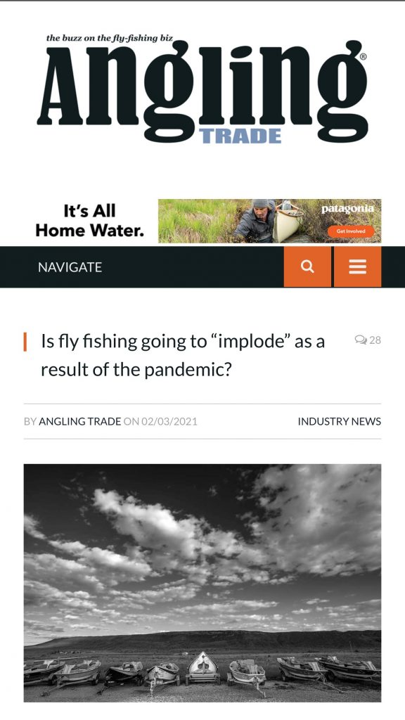 fly fishing article