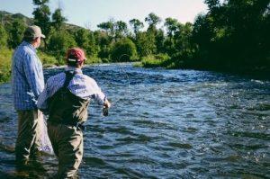 Fly fishing in Park City, Utah