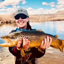 Utah fly fishing guide Hillary Sapp